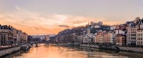 O Saône e o vale do Ródano