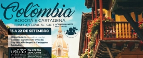 Colômbia - Bogotá e Cartagena com Catedral de Sal