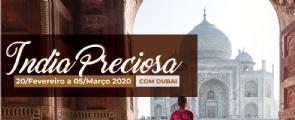 Índia Preciosa com Dubai